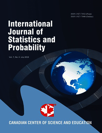 Home | International Journal of Statistics and Probability | CCSE