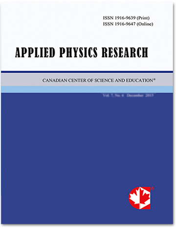 Home | Applied Physics Research | CCSE