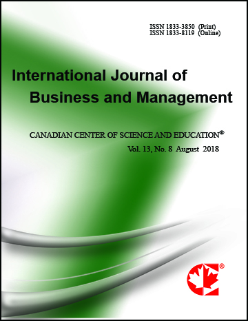 Home | International Journal of Business and Management | CCSE